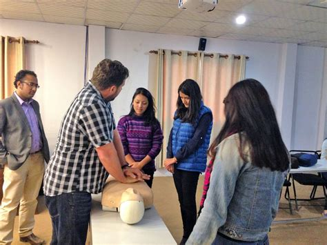 thames college of nepal inspiring nepal with cpr first aid training