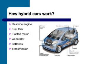 Electric Vehicles Working Ppt Hybrid Cars Presentation