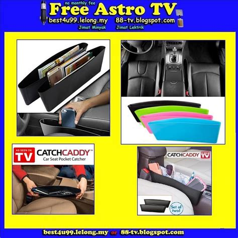 Catch Caddy As Seen On Tv 1 Set Isi 2pcs Unik as seen on tv catch caddy car seat p end 5 19 2017 6 15 pm