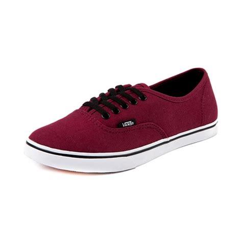 vans maroon shoes vans authentic lo pro skate shoe maroon journeys shoes