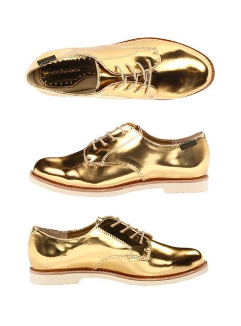 iridescent oxford shoes metallic gold oxfords also available in silver closet