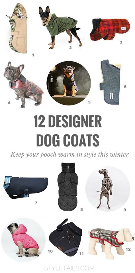design dog jacket trends best designer dog coats and jackets