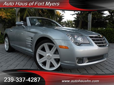 chrysler crossfire limited convertible ft myers fl