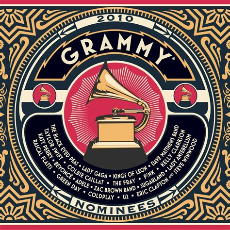 Cd Grammy 2010 Nominee 2010 Grammy Nominees By Various Artists Charts