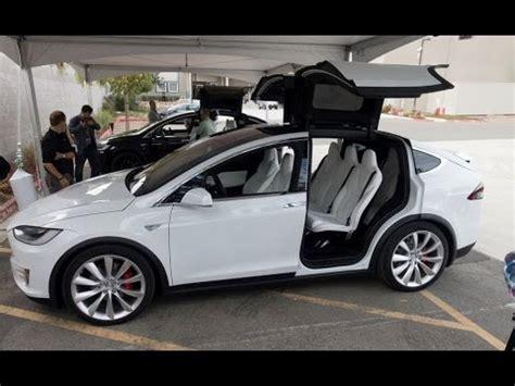 tesla suv interior auto car hd