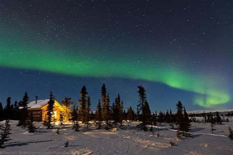 colorado creek cabin and northern lights endres