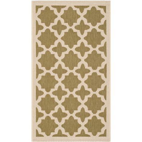 2 x 3 outdoor rug safavieh courtyard green beige 2 ft x 3 ft 7 in indoor outdoor area rug cy6913 244 2 the