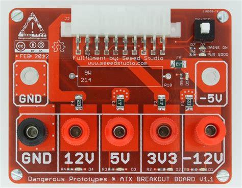 atx breakout board bench power supply atx breakout board design overview dp
