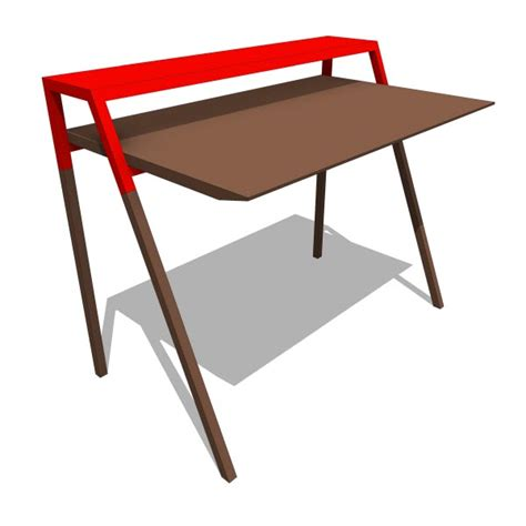 Dot Desk by Dot Cant 10370 2 00 Revit Families Modern