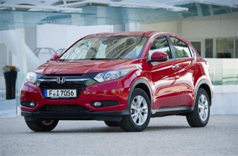 New Honda Hr V 2015 honda hr v 2015 pricing announced car model news