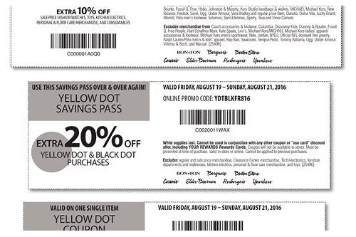 carson's coupons august 2018