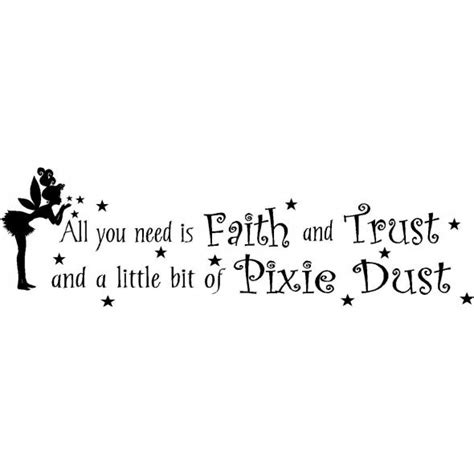 Wall Phrases Stickers 10 images about tinker bell quotes on pinterest disney