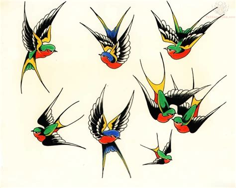 old school swallow tattoo designs 10 designs and ideas