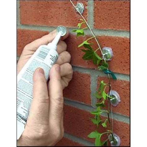 hanging christmas lights on stucco without drilling plant anchor kit no drilling no nails no screws