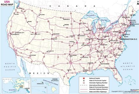 printable road maps of the us us road map our 2016 trip pinterest a well cars and