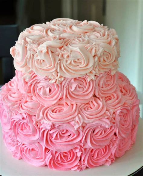 red roses pink ombre cake pinterest discover and save creative ideas