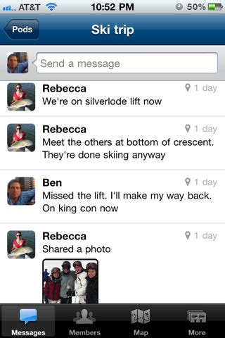 chat android to iphone beluga chat for android iphone and the web