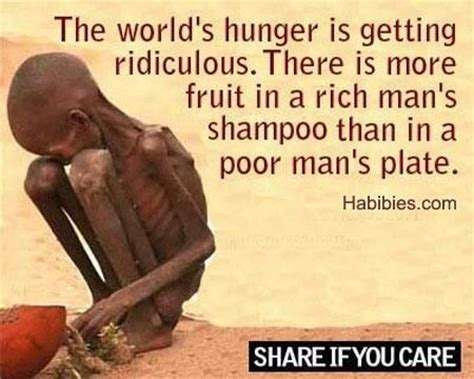 Poor This Is So Sad by World Hunger Quotes Quotesgram