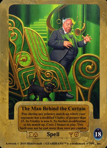 the man behind the curtain guardians ccg april 2011