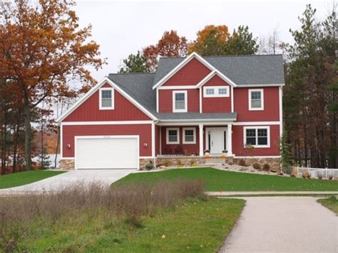 red homes red barn or boothbay blue exterior inspiration on the