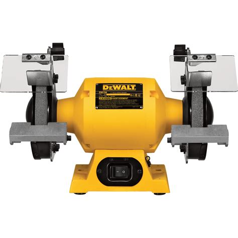 grinding aluminum on a bench grinder free shipping dewalt heavy duty bench grinder 6in 5 8 hp model dw756