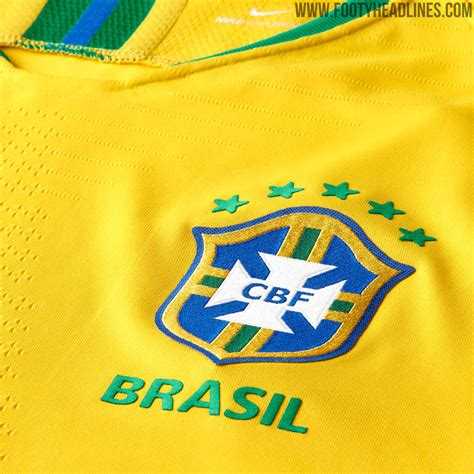 ùi Hình Brazil World Cup 2018 Brazil 2018 World Cup Home Kit Released Footy Headlines