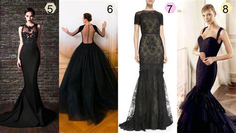 imagenes de vestidos de novia negro vestidos de novia poco tradicionales alas de mariposa