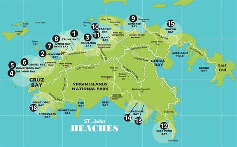 map st vi map st usvi travel maps and major tourist