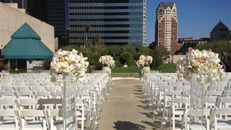 outdoor wedding venues downtown los angeles outdoor wedding venues los angeles the westin bonaventure hotel suites los angeles