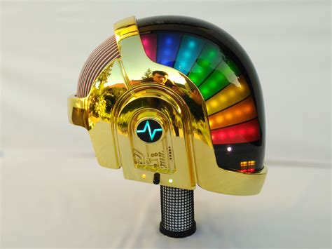 daft punk no mask this insane diy fan made daft punk helmet even comes with