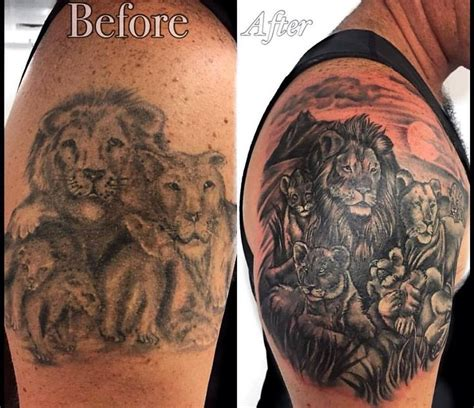 Best Cover Up Tattoo Artist Bali | best 25 small lion tattoo ideas on pinterest small leo
