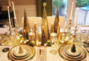 gold christmas table decorations designcorner