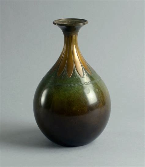 Bronze Vase by Bronze Vase By Just Andersen 1930s For Sale At Pamono