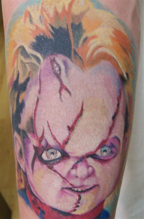 chucky from child s play tattoo picture