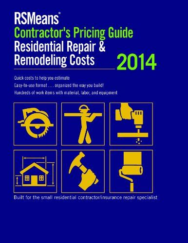 rsmeans contractor s pricing guide residential repair