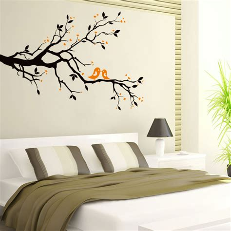 bird wallpaper home decor popular black twigs buy cheap black twigs lots from china