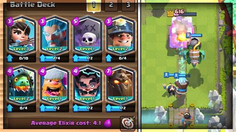 Clash Royale 10 all legendary deck in legendary arena 10 in clash royale