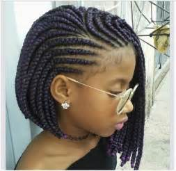 cornrow hairstyles for black with part in the middle this cute cornrow bob hairstyle will have you running to