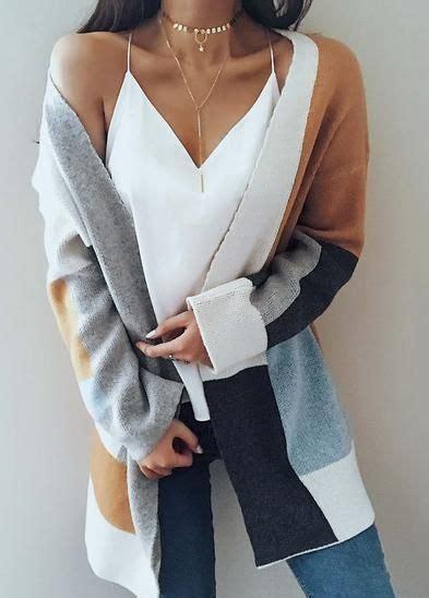 multi color cardigan knit multi color sleeve cardigan in 2019 stitch fix