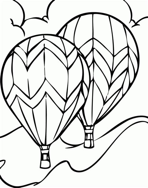 air balloon l air balloon coloring pages free printable coloring home