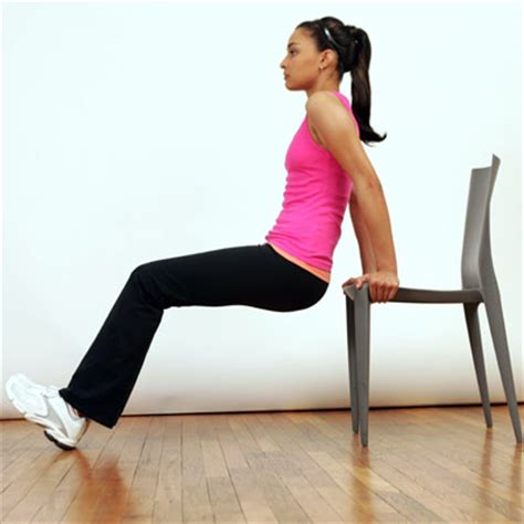 in home workout for chair or step workout real