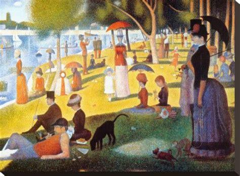 georges seurat most famous paintings a sunday on la grande jatte 1884 1884 86