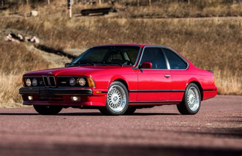 1988 bmw m6 series 1988 bmw m6 bring a trailer