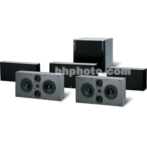 jamo d 6ptx 5 1 home theater speaker system 95213 b h photo