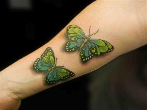 ideen fuer schmetterling tattoo designs fuer frauen