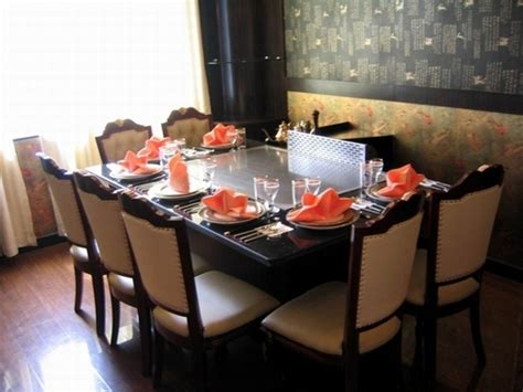 Teppan Table by Image Gallery Teppan Table