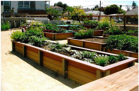 planter design brown wooden raised planter box plans in a simple design