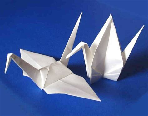 How Big Is An Origami Paper - 25 large origami cranes origami paper cranes paper crane