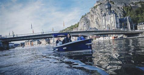 elektrisch bootje elektrische bootjes van dinant evasion binnenscheepvaart