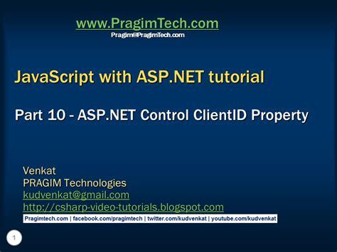 Tutorial Asp Net Javascript   sql server net and c video tutorial asp net control